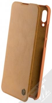 Nillkin Qin flipové pouzdro pro Huawei P Smart (2019) hnědá (brown)