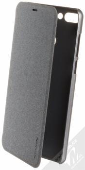 Nillkin Sparkle flipové pouzdro pro Huawei Y9 (2018) šedá (night black)