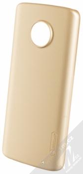 Nillkin Super Frosted Shield ochranný kryt pro Moto G6 Plus zlatá (gold)