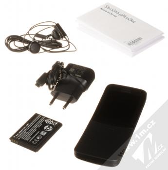Nokia 8110 4G Dual SIM černá (black) balení