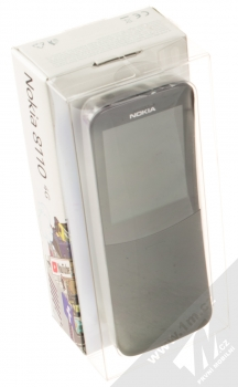 Nokia 8110 4G Dual SIM černá (black) krabička