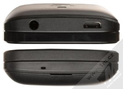 Nokia 8110 4G Dual SIM černá (black) seshora a zezdola