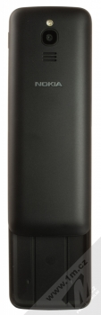 Nokia 8110 4G Dual SIM černá (black) zezadu otevřené