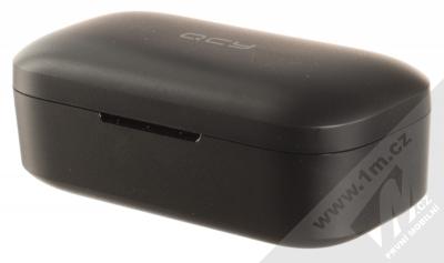 QCY T5 True Wireless Bluetooth stereo sluchátka černá (black) nabíjecí pouzdro