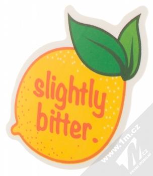Samolepka Jenom trochu kyselý citrón 1