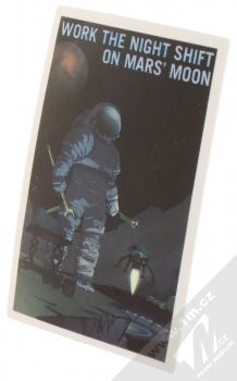 Samolepka Zapoj se do noční šichty na Měsíci Marsu 2