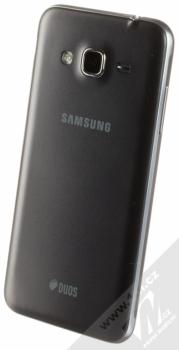 SAMSUNG SM-J320F/DS GALAXY J3 (2016) DUOS černá (black) šikmo zezadu