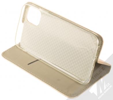 Sligo Smart Magnet flipové pouzdro pro Apple iPhone 11 zlatá (gold) stojánek
