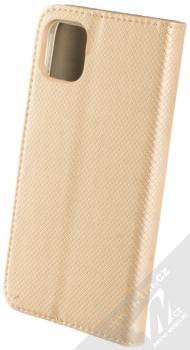 Sligo Smart Magnet flipové pouzdro pro Apple iPhone 11 zlatá (gold) zezadu