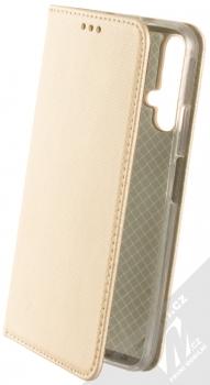 Sligo Smart Magnet flipové pouzdro pro Honor 20, Huawei nova 5T zlatá (gold)