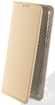 Sligo Smart Magnet flipové pouzdro pro Moto G7 zlatá (gold)