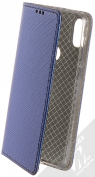 Sligo Smart Magnet flipové pouzdro pro Motorola One tmavě modrá (dark blue)