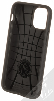 Spigen Liquid Air ochranný kryt pro Apple iPhone 12 mini černá (matte black) zepředu