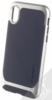 Spigen Neo Hybrid ochranný kryt pro Apple iPhone X stříbrná (satin silver)