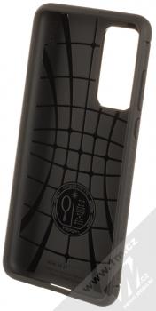 Spigen Rugged Armor odolný ochranný kryt pro Huawei P40 černá (matte black) zepředu