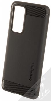 Spigen Rugged Armor odolný ochranný kryt pro Huawei P40 černá (matte black)