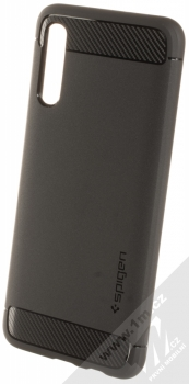 Spigen Rugged Armor odolný ochranný kryt pro Samsung Galaxy A50 černá (matte black)