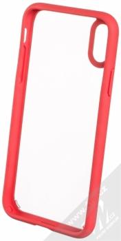 Spigen Ultra Hybrid odolný ochranný kryt pro Apple iPhone X červená (red) zepředu