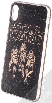 Star Wars Jednotka Stormtrooperů 005 TPU ochranný silikonový kryt s motivem pro Apple iPhone XS Max tmavě modrá (dark blue)