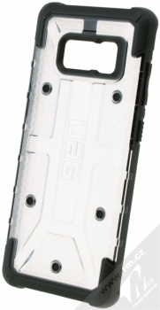 UAG Plasma odolný ochranný kryt pro Samsung Galaxy S8 bílá průhledná černá (ice black)
