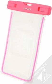USAMS Luminous 5,5 vodotěsné pouzdro pro mobilní telefon, mobil, smartphone růžová (pink)