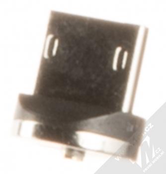USAMS U-Sure microUSB Plug samostatná magnetická záslepka s microUSB konektorem černá (black)