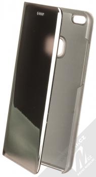 Vennus Clear View flipové pouzdro pro Huawei P10 Lite stříbrná (silver)