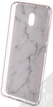 Vennus Stone Case ochranný kryt pro Xiaomi Redmi 8A bílý howlit (white howlite) zepředu