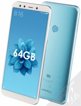 Xiaomi Mi A2 4GB/64GB Global Version CZ LTE + BLUETOOTH HEADSET STEREO SLUCHÁTKA SETTY v ceně 890Kč ZDARMA modrá (blue)