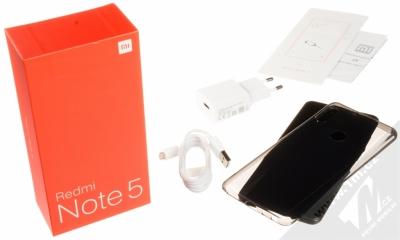 XIAOMI REDMI NOTE 5 3GB/32GB Global Version CZ LTE černá (black) balení