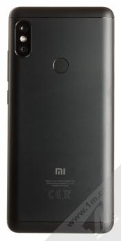 XIAOMI REDMI NOTE 5 3GB/32GB Global Version CZ LTE černá (black) zezadu