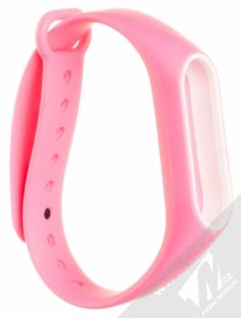 Xiaomi Strap silikonový pásek na zápěstí pro Xiaomi Mi Band 2 růžová (pink)