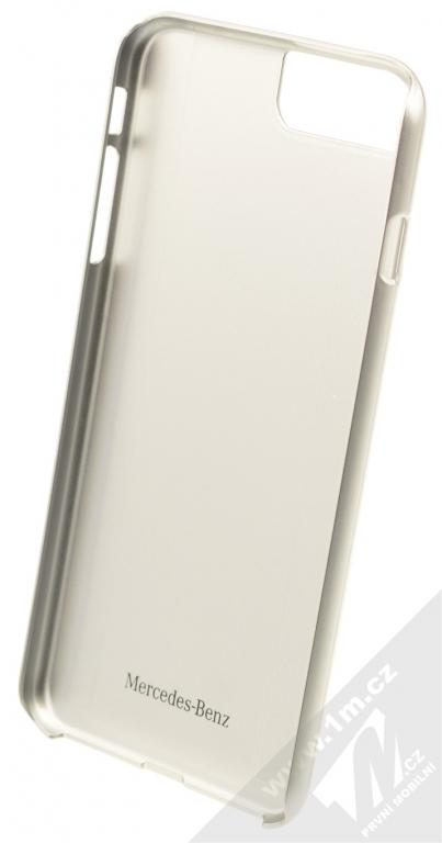 Mercedes Aluminium Hard Case ochranný kryt pro Apple iPhone 7 Plus  (MEHCP7LCUALRE) červená stříbrná c0c7815dd1a