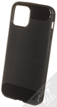 1Mcz Carbon TPU ochranný kryt pro Apple iPhone 12 Pro černá (black)