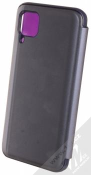 1Mcz Clear View flipové pouzdro pro Huawei P40 Lite fialová (purple) zezadu