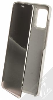 1Mcz Clear View flipové pouzdro pro Samsung Galaxy A31, Galaxy A51, Galaxy A51 5G stříbrná (silver)