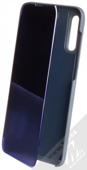 1Mcz Clear View flipové pouzdro pro Samsung Galaxy A70 modrá (blue)