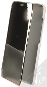 1Mcz Clear View flipové pouzdro pro Xiaomi Redmi 8A stříbrná (silver)