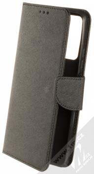 1Mcz Fancy Book flipové pouzdro pro Huawei P Smart (2021) černá (black)