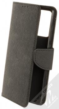 1Mcz Fancy Book flipové pouzdro pro Samsung Galaxy A52, Galaxy A52 5G, Galaxy A52s 5G černá (black)