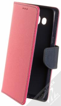 1Mcz Fancy Book flipové pouzdro pro Samsung Galaxy J5 (2016) růžová modrá (pink blue)