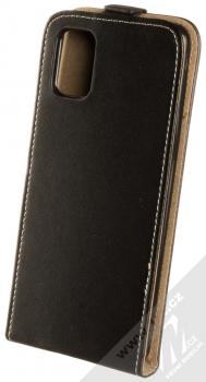 1Mcz Flexi Slim Flip flipové pouzdro pro Samsung Galaxy A31 černá (black) zezadu