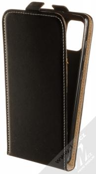 1Mcz Flexi Slim Flip flipové pouzdro pro Samsung Galaxy A31 černá (black)