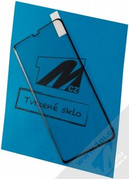 1Mcz Glass 5D Full Glue ochranné tvrzené sklo na kompletní displej pro Huawei Mate 20 Pro černá (black)