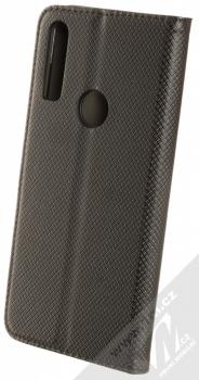 1Mcz Magnet Book Color flipové pouzdro pro Alcatel 3X (2019) černá (black) zezadu