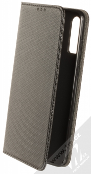 1Mcz Magnet Book Color flipové pouzdro pro Alcatel 3X (2019) černá (black)