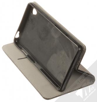 1Mcz Magnet Book Color flipové pouzdro pro Sony Xperia Z3 černá (black) stojánek