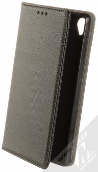 1Mcz Magnet Book Color flipové pouzdro pro Sony Xperia Z3 černá (black)