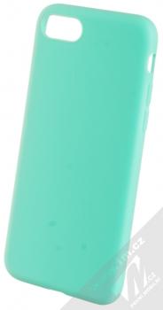 1Mcz Matt TPU ochranný silikonový kryt pro Apple iPhone 7, iPhone 8, iPhone SE (2020) mátově zelená (mint green)