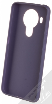 1Mcz Matt TPU ochranný silikonový kryt pro Nokia 5.4 tmavě modrá (dark blue) zepředu